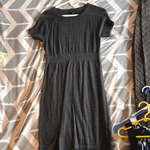 Worthington gray sweater dress